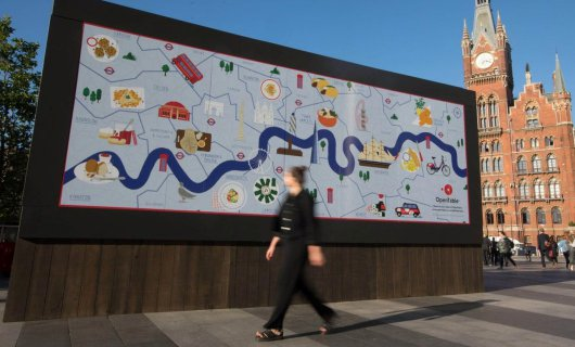 Tasty outdoor advertising - a direct path to the heart of the client