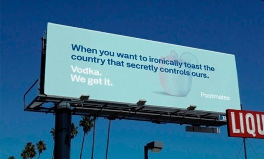 Bright Billboards by Postmates