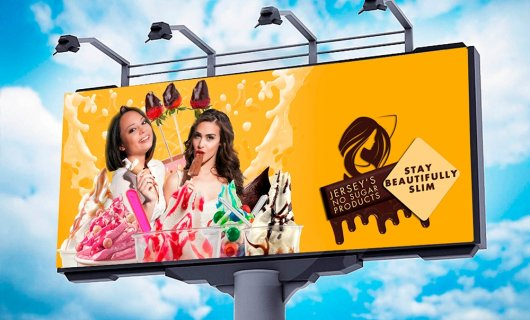Outdoor advertising: color is important