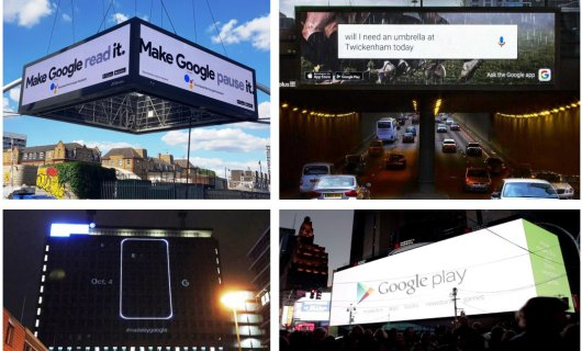 Internet advertising is good. But WEB + outdoor advertising is much better